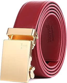 Belts for Men Ratchet Belt with Removable Buckle 35mm Leather Belts Custom Fit