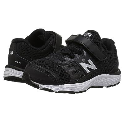 New Balance Kids KA680v5I (Infant/Toddler) (Black/White) Boys Shoes