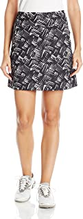 Cutter & Buck Women's Performance, Pull-on Roxanne Printed Knit Skort with Pockets