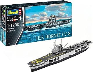 ドイツレベル 1/1200 アメリカ海軍 USS ホーネット プラモデル 05823