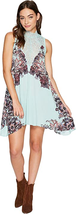 Marsha Printed Slip Dress