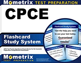 CPCE Flashcard Study System: CPCE Test Practice Questions & Exam Review for the Counselor Preparation Comprehensive Examination (Cards)