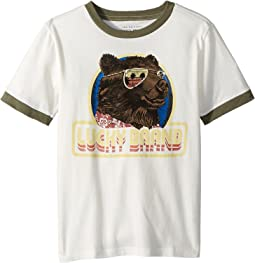 Lucky Brand Kids Short Sleeve Graphic Tee (Little Kids/Big Kids)