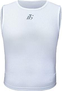 PALMFOX Men's Cycling Base Layer Sleeveless Slim Bike Undershirt Breathable Moisture Wicking Quick Dry Bicycle Vests