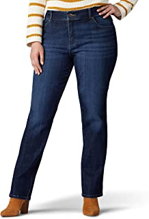 Women's Plus Size Relaxed Fit Straight Leg Jean