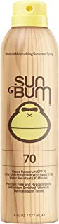 Sun Bum Original Moisturizing Sunscreen Spray, 6 oz Bottle, 1 Count, Broad Spectrum UVA/UVB Protection
