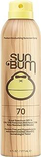 Sun Bum Original Moisturizing Sunscreen Spray, 6 oz Bottle, 1 Count, Broad Spectrum UVA/UVB Protection
