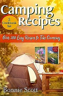 دستور العمل های کمپینگ - 2 مجموعه کتاب آشپزی: بیش از 200 دستور العمل آسان برای کمپینگ