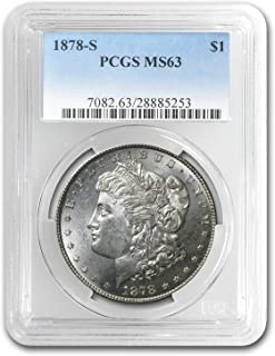 1878 S Morgan Dollar MS-63 PCGS $1 MS-63 PCGS