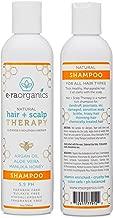 Sulfate Free Shampoo For Itchy Scalp - Moisturizing Shampoo for Dry, Itchy Scalp & Damaged, Frizzy, Oily Hair With Aloe Vera, Manuka Honey & More - Ph Balanced, Paraben Free 8oz Era-Organics