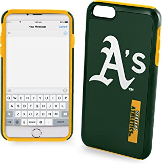 Forever Collectibles Oakland Athletics Impact Dual Hybrid iPhone 6 Plus Cover - TPU (2 Piece Case)