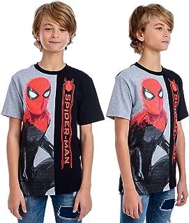 IM Marvel Little Boys' Split Tee Spiderman T-shirt