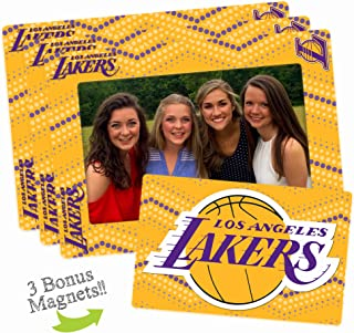Worthy Promo NBA Unisex NBA Magnetic Picture Frame 3-Pack