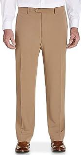 Details about  /Men/'s Dress Pant Big And Tall Khaki Size 38 open hem 65 Poly 35 Cotton 4 Pocket
