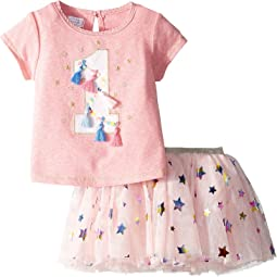 One Birthday Skirt Set (Infant)