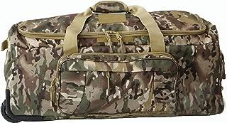 Military Tactical Wheeled Deployment Trolley Duffel Bag Heavy-Duty Camping Hiking Running Trekking