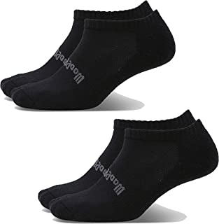 Woolly Clothing Merino Wool Ankle Air Sock - [ 2 Pairs ] - Moisture wicking, anti-odor, go anywhere sock