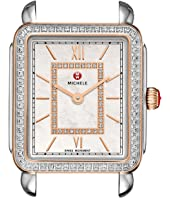 Michele - Deco II Mid Diamond Rose Gold Diamond Dial Watch
