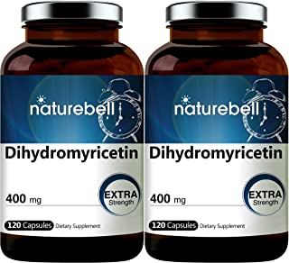 2 Pack NatureBell Dihydromyricetin DHM as Hovenia Dulcis Extract 400mg, 120 Capsules, Alcohol Consumption Support Suppleme...
