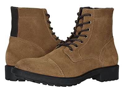 FRYE AND CO. Cody Lace-Up (Tan Suede) Men