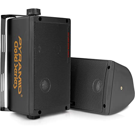 Pyramid 2060 300-Watt 3-Way Mini Box Speaker System