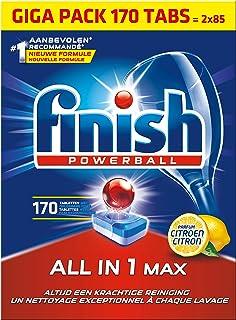 Finish All in 1 Max Citroen Vaatwastabletten - 170 tabletten