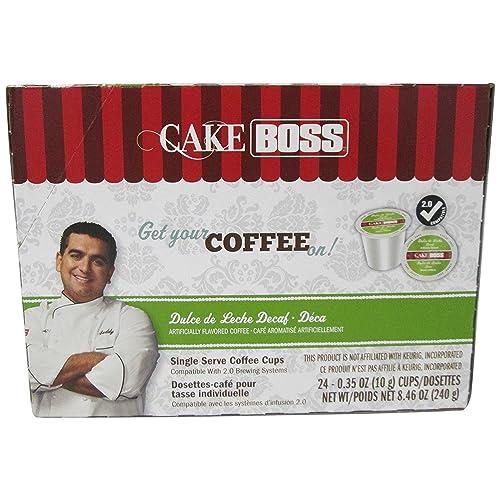 Cake Boss Coffee, Dulce De Leche DECAF, 24 Count