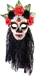 Women's Day Of The Dead Senora Lace Mask
