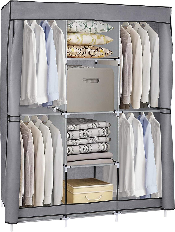 SUPER DEAL Portable Wardrobe Closet w Clothes Waterpro Organizer Tulsa Mall Max 68% OFF