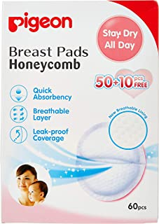Pigeon 16593 Honeycomb Breast Pads - 60 Pieces