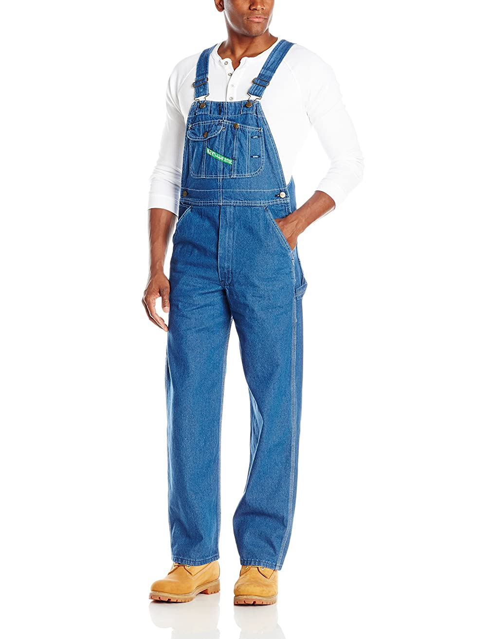 Key Apparel Men's High Back Bib Overall