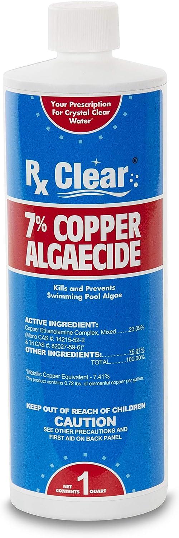 Rx Clear 7% Copper Algaecide Kills and Prevents In-G for Phoenix Mall Algae Nippon regular agency