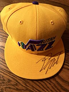 a9cd624b9ab DONOVAN MITCHELL Signed Autograph Utah Jazz hat Louisville Slam Dunk Champ  - JSA Certified - Autographed