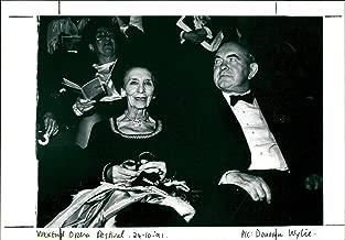 Vintage photo of Wexford Opera Festival, 1991