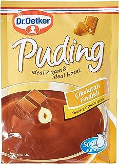Dr. Oetker Puding Çikolatalı Fındık Aromalı, 102 Gr