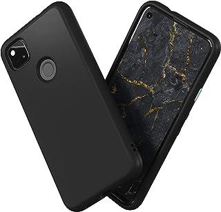 RhinoShield Google Pixel 4a (4G) SolidSuitケース - 3.5mの落下衝撃からも保護 マット加工でスタイリッシュなデザイン - ブラック