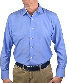 3ca4bff653 Amazon.it: camicia azzurra - Uomo: Abbigliamento