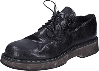 MOMA Oxfords Womens Leather Black