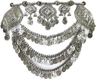 metal belly dance belt