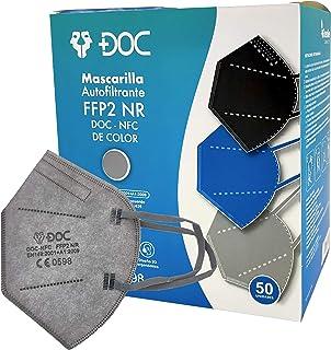 GreenBee Mascarillas FFP2 Homologadas - Mascarillas Higienicas Auto Filtrantes de Partículas - Mascarillas de Color de 5 C...