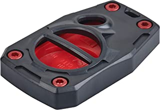 AJT DESIGN Injection Fob Case (05-15 Tacoma / 07-17 Tundra) Black Top/Red Bottom+Screws