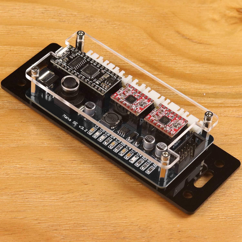 WOVELOT Eleksmana Panel de Control de La Placa del Controlador del Conductor del Motor Paso a Paso de Xy 2 Axis para El Grabador de Diy: Amazon.es: Bricolaje y herramientas