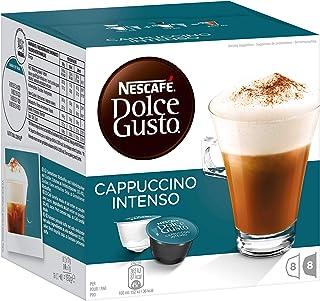 NESCAFÉ Nescafe Dolce Gusto Espresso Intenso Coffee, Milk, Coffee, Coffee, 96Capsules (48Servings)