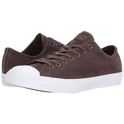 Converse Chuck Taylor(r) All Star(r) Plush Suede Ox (Dark Chocolate/Dark Chocolate) Classic Shoes
