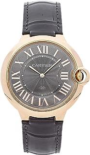 Cartier Ballon Bleu de Cartier Mechanical (Hand-Winding) Grey Dial Mens Watch WGBB0020 (Certified Pre-Owned)