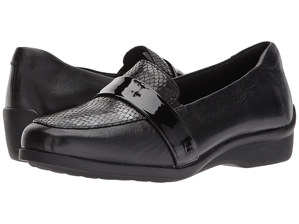 Aravon Winsor Moc (Black Multi) Women
