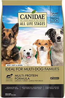 Canidae All Life Stages Dry Dog Food, Chicken, Turkey, Lamb and Fish Meals, 30lbs