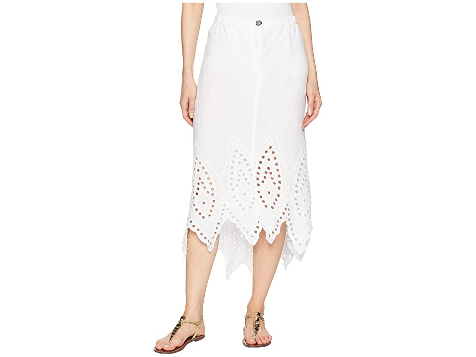 XCVI Daru Skirt (White) Women's Skirt