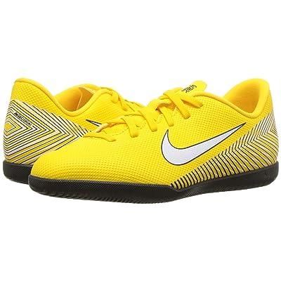 Nike Kids Neymar Jr. VaporX 12 Club IC Soccer (Little Kid/Big Kid) (Amarillo/White/Black) Kids Shoes