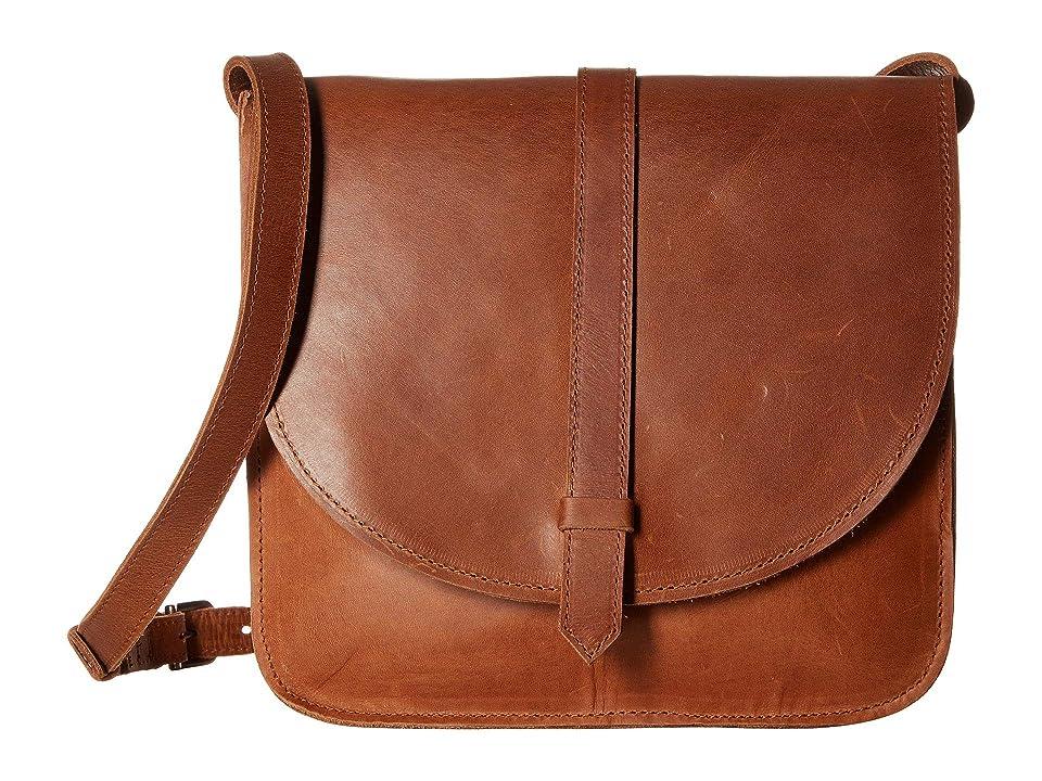 ABLE Tirhas Saddle Bag (Chestnut) Bags